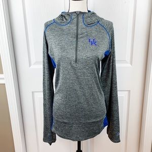 Kentucky Pullover Hoodie Half Zip NWOT